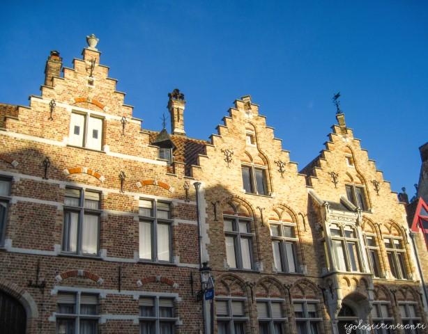 Casette tipiche a Bruges