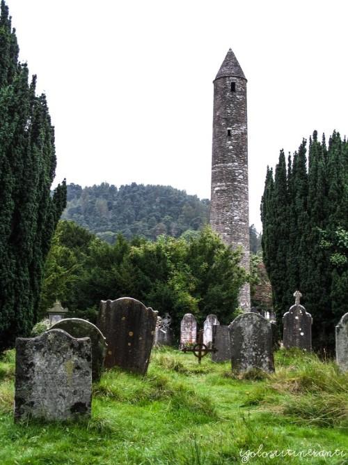 Sito monastico di Glendalough (Wicklow, Irlanda)