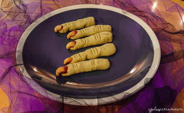 Halloween è alle porte: dita della strega verdi al tè matcha
