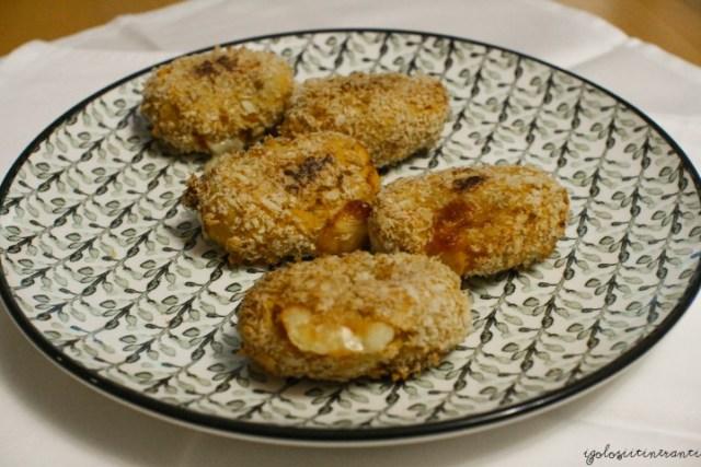 Crocchette con patate dolci e asiago