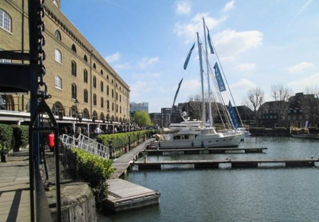 St Katharine Docks Londra