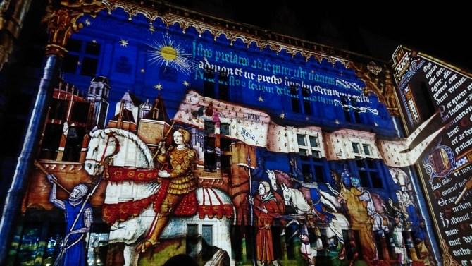 Spettacolo son et lumiere, Castello reale di Blois