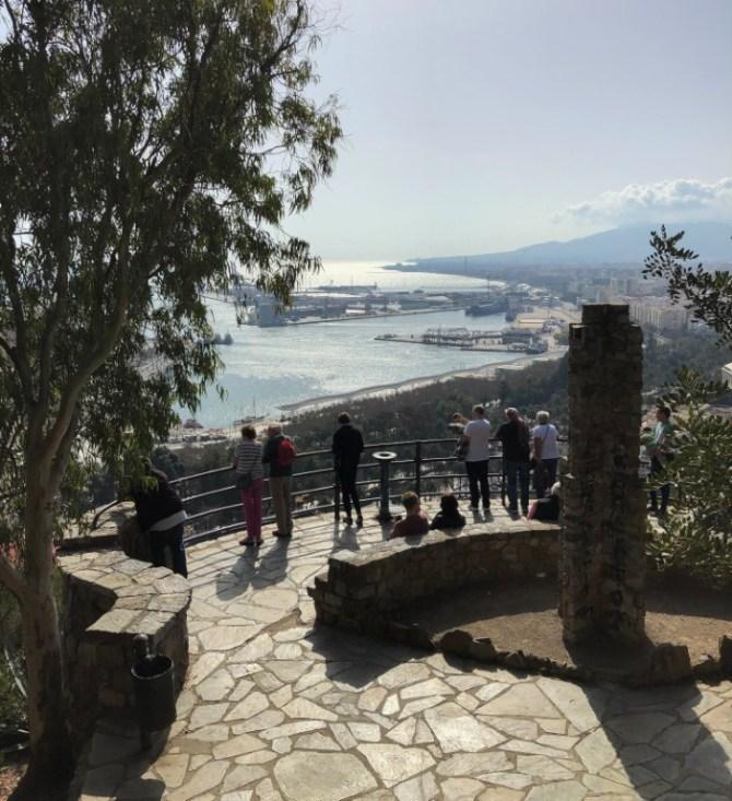 Vista litorale Malaga