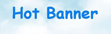 Изготовление баннеров в hot-banner