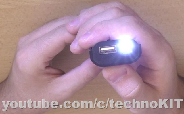 тест фонарика с функией SOS
