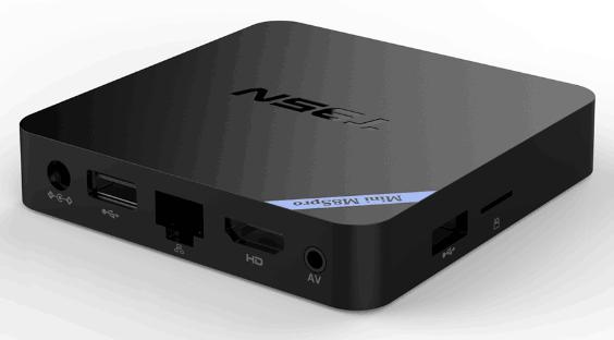 Порты подключения приставки Mini M8S Pro