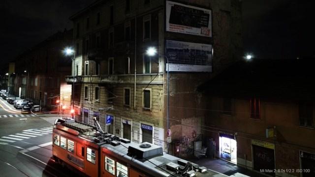 Пример ночного фото Mi Max 2