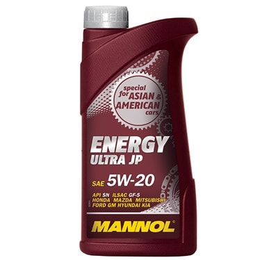 Mannol Energy Ultra JP SAE 5w-20 в таре 1 л
