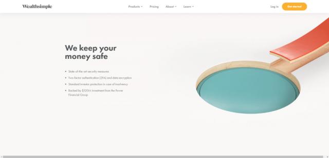 Пример использования пустого пространства на страницах сайта
