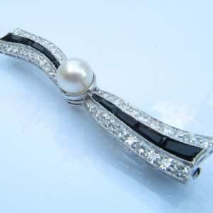 Vintage broche diamant