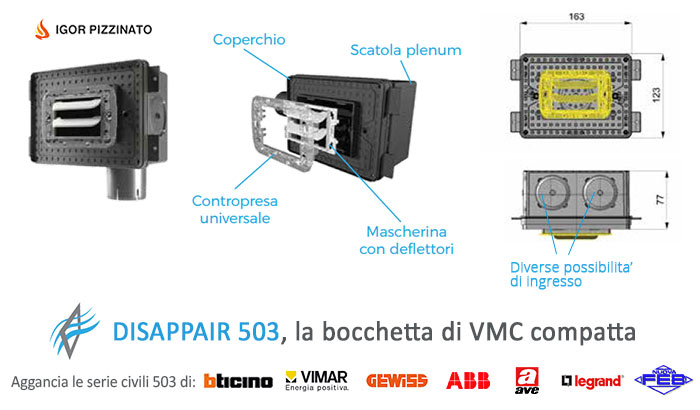 Bocchetta vmc Disappair 503 multiversione