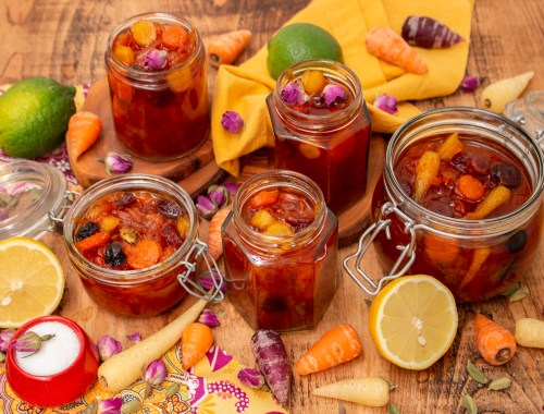 Carrot Jam Recipe | Morabaye Havij | igotitfrommymaman.com #persianrecipes
