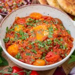 Mirza Ghasemi Recipe - Smokey Aubergine, Tomato and Egg Dip - Persian Recipes by I got it from my Maman
