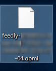 OPMLファイル