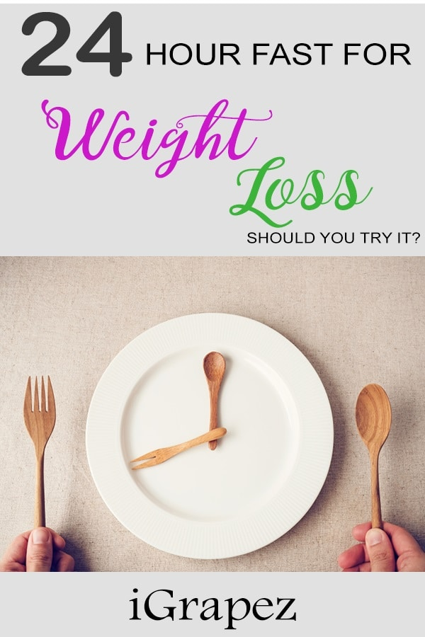 24 Hour Fast for Weight Loss- [Should You Try It?]