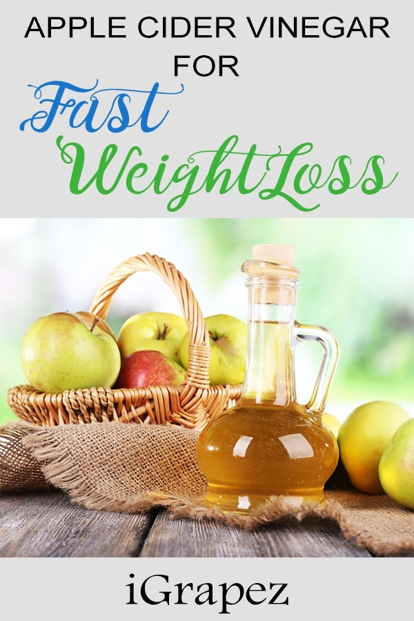 Apple Cider Vinegar Diet for Fast Weight Loss