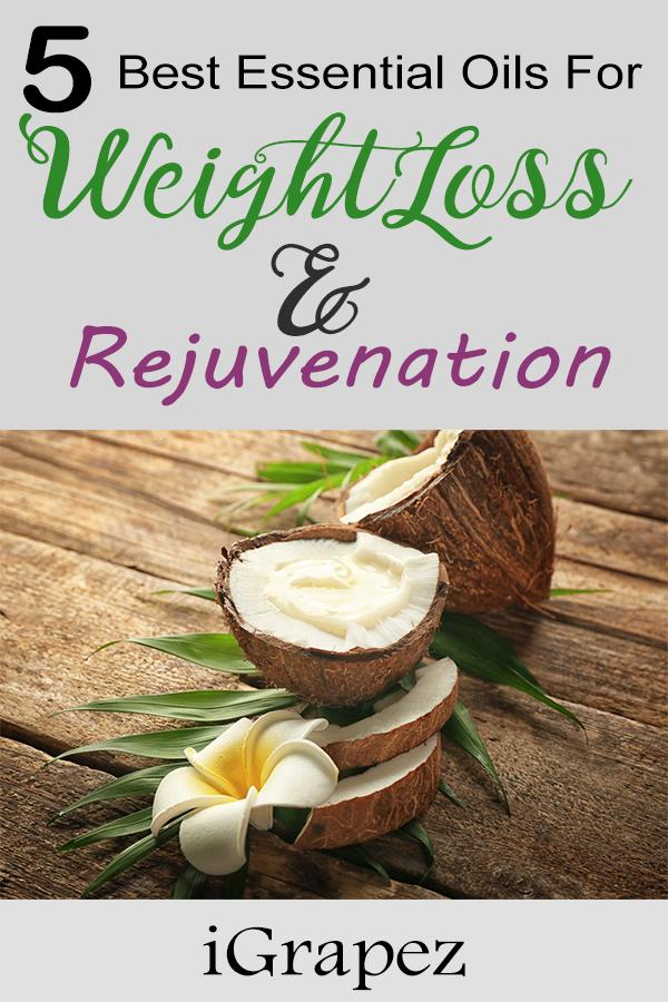 5 Best Essential Oils for Weight loss and Rejuvenation