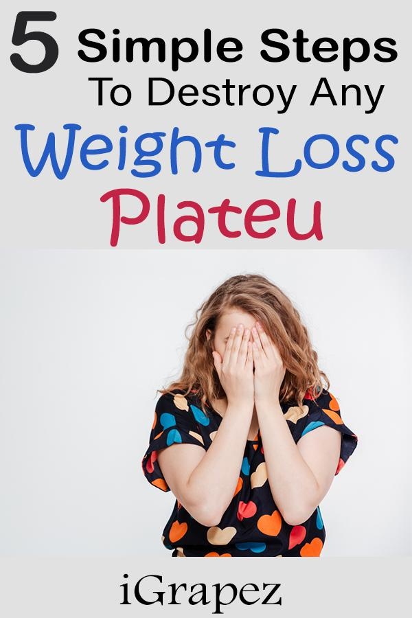 5 simple steps to destroy any weight loss plateu