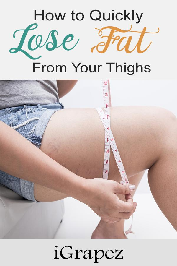 How To Quickly Lose Fat From Your Thighs