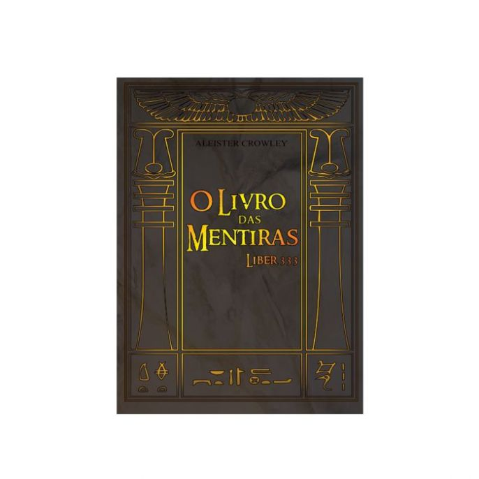 Capa de Livro: O Livro Das Mentiras