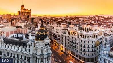 View over Madrid