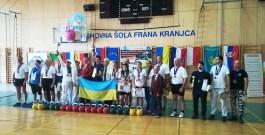 Открытый чемпионат Европы среди мужчин, женщин, юниоров и ветеранов и 8-йчемпионат мира по гиревому спорту среди студентов