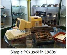 TUS-Simple PCs used in 1980s x