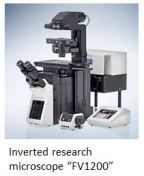 Olympus microscope FV1200