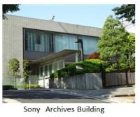 Sony- Archives building