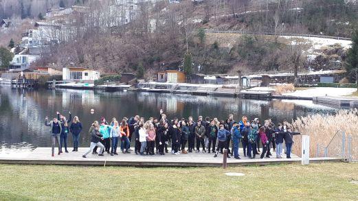 Skifahrt See