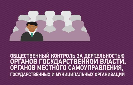 Общественный контроль за деятельностью органов государственной власти, органов местного самоуправления, государственных и муниципальных организаций