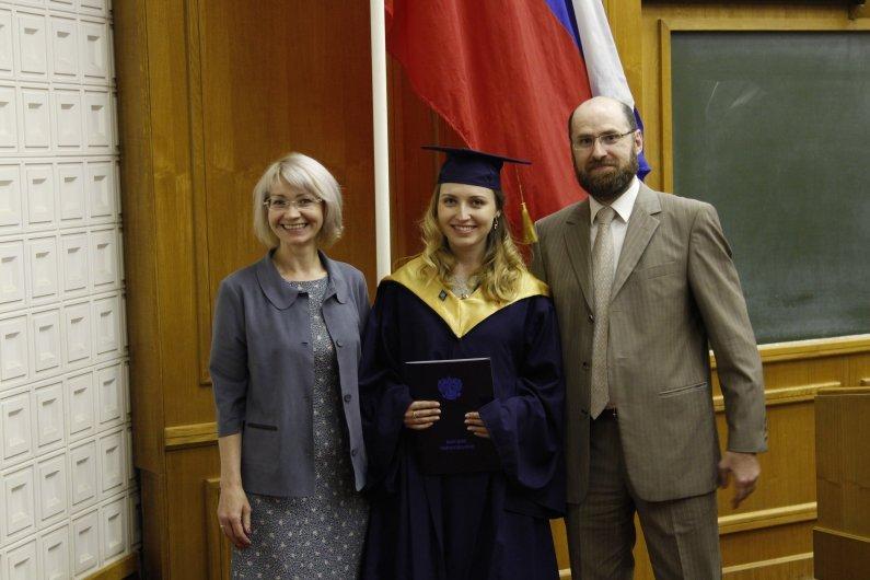 Вручение дипломов выпускникам магистратуры и MBA
