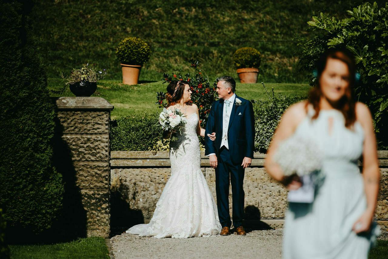 Cressbrook Hall wedding photography - Debbie and Martin 19