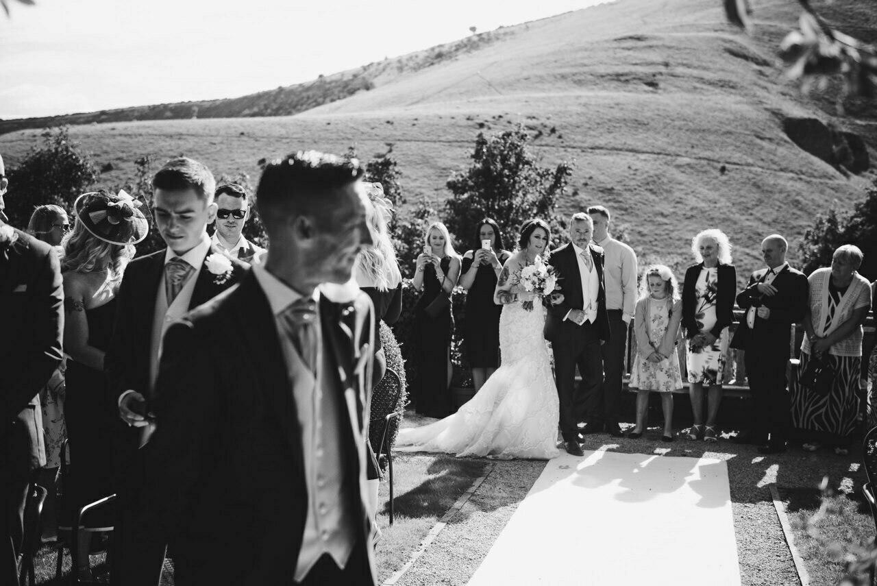 Cressbrook Hall wedding photography - Debbie and Martin 21
