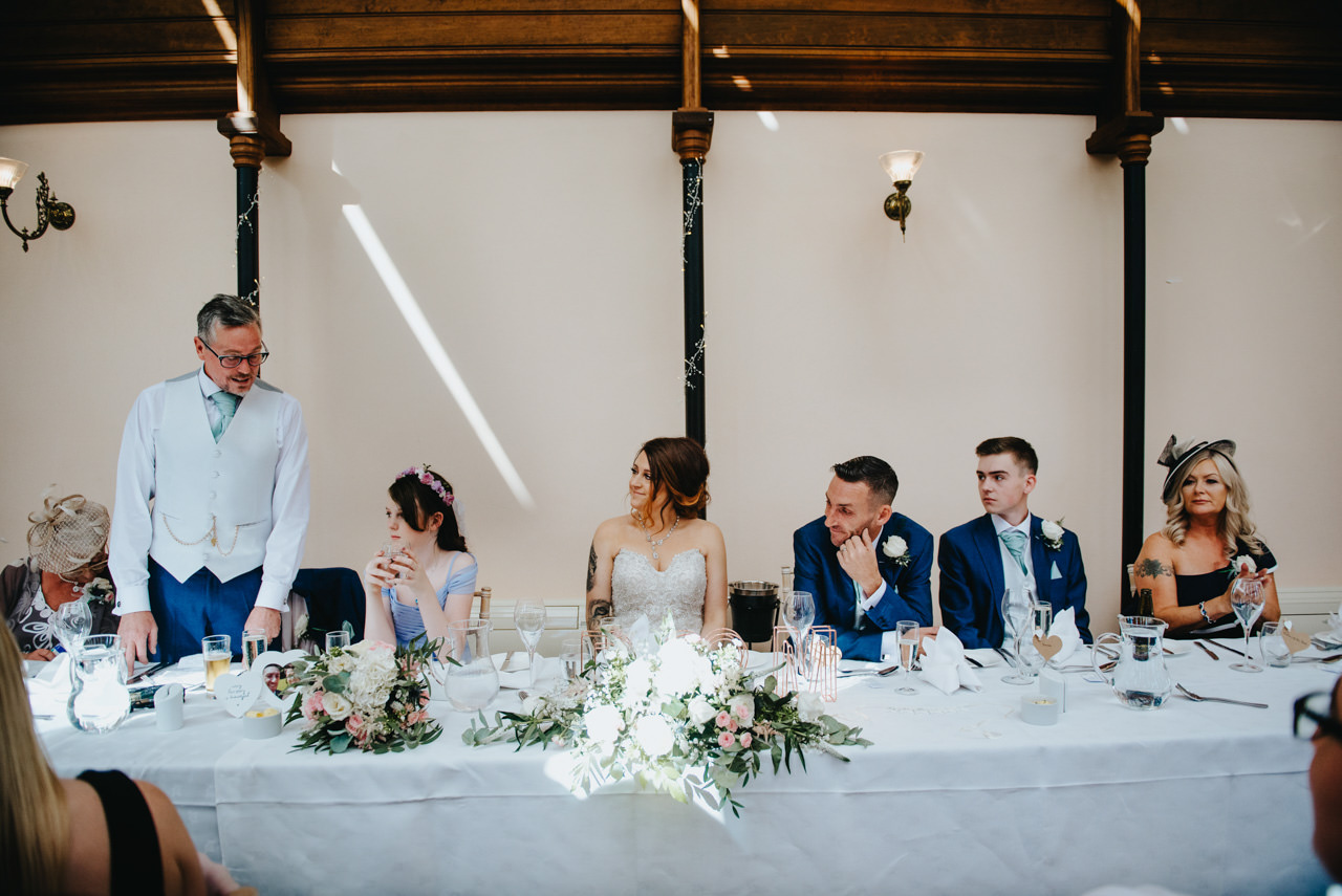 Cressbrook Hall wedding photography - Debbie and Martin 47
