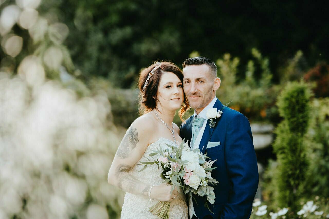 Cressbrook Hall wedding photography - Debbie and Martin 56