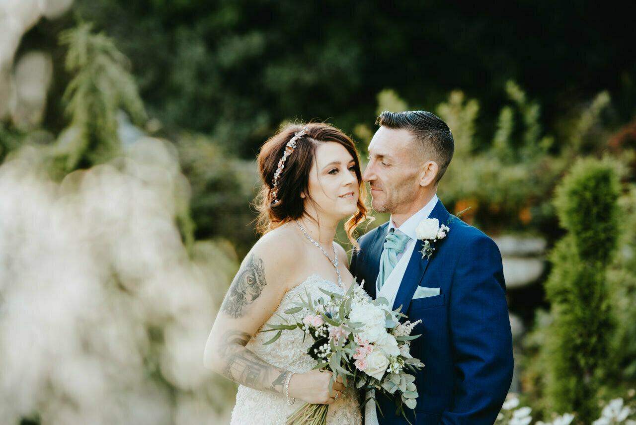 Cressbrook Hall wedding photography - Debbie and Martin 57