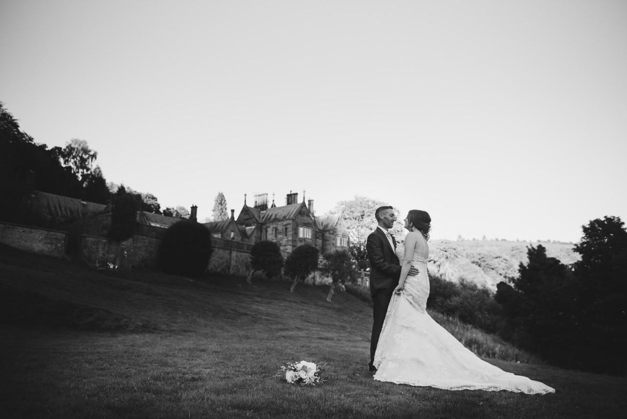 Cressbrook Hall wedding photography - Debbie and Martin 65