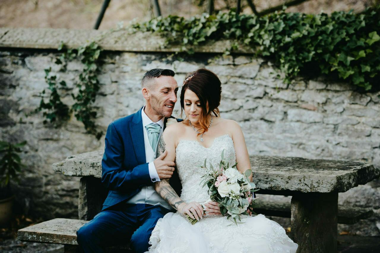 Cressbrook Hall wedding photography - Debbie and Martin 74