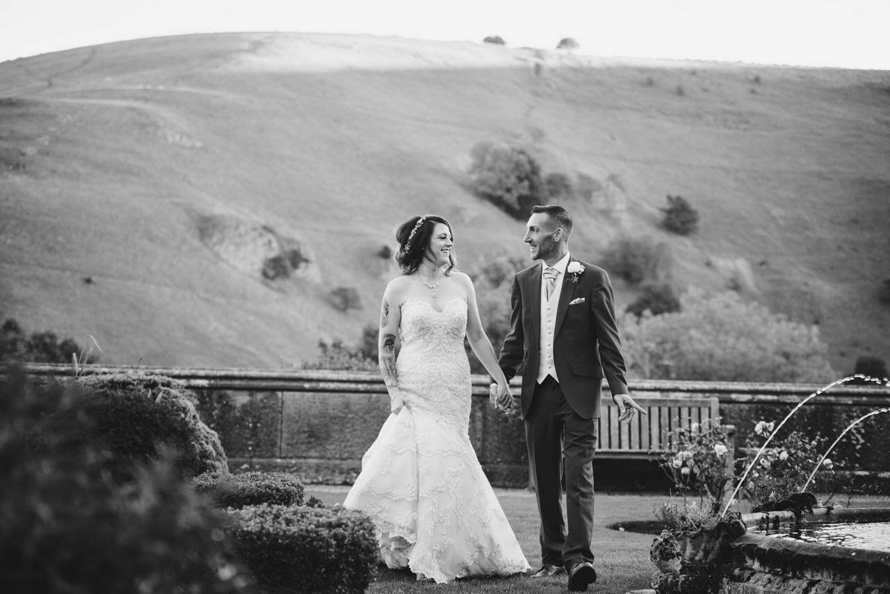 Cressbrook Hall wedding photography - Debbie and Martin 77
