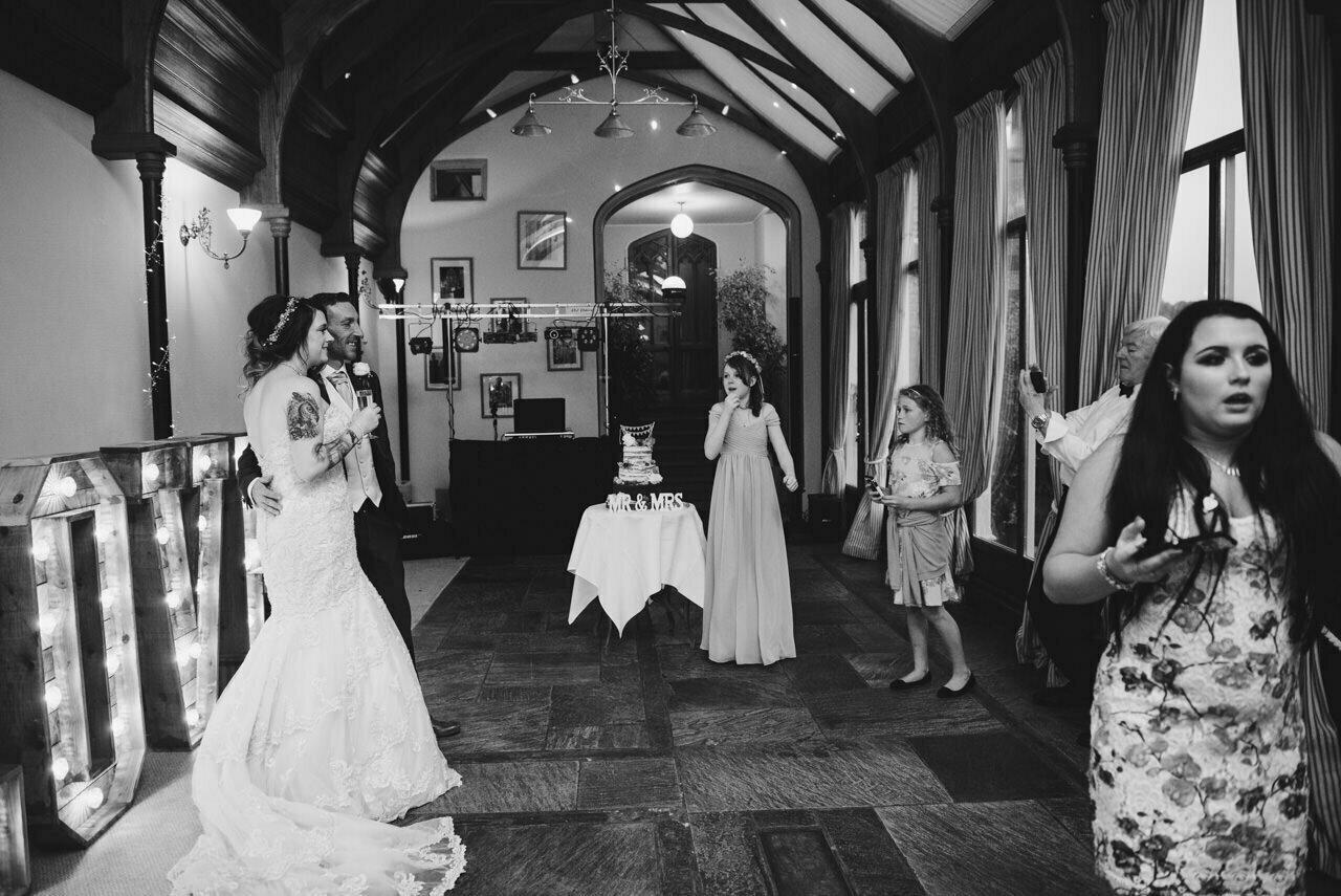 Cressbrook Hall wedding photography - Debbie and Martin 83