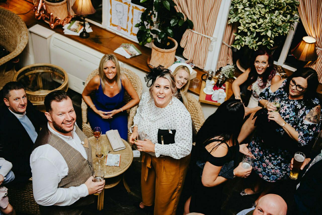 Cressbrook Hall wedding photography - Debbie and Martin 84