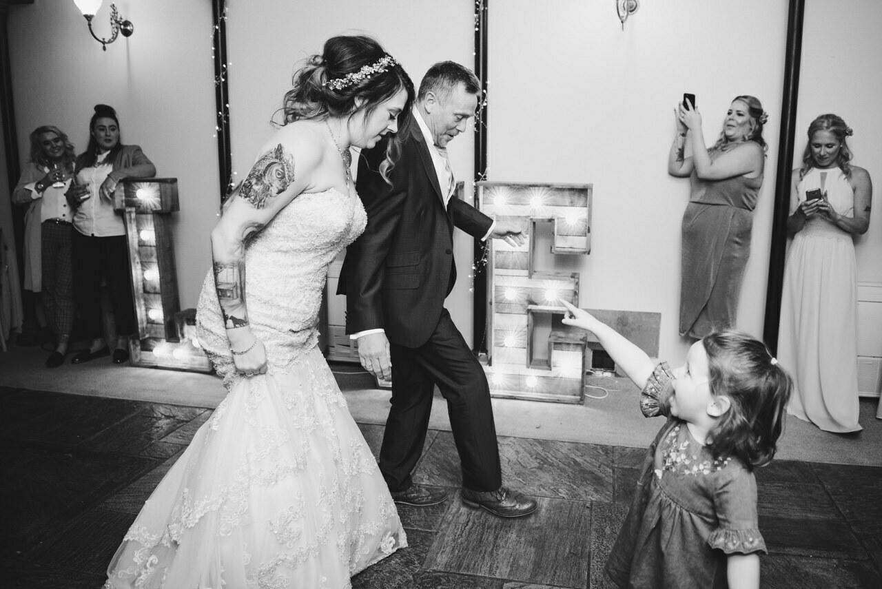 Cressbrook Hall wedding photography - Debbie and Martin 92