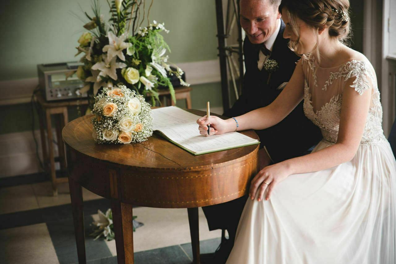 Sledmere House -Wedding  Photography Yorkshire 37
