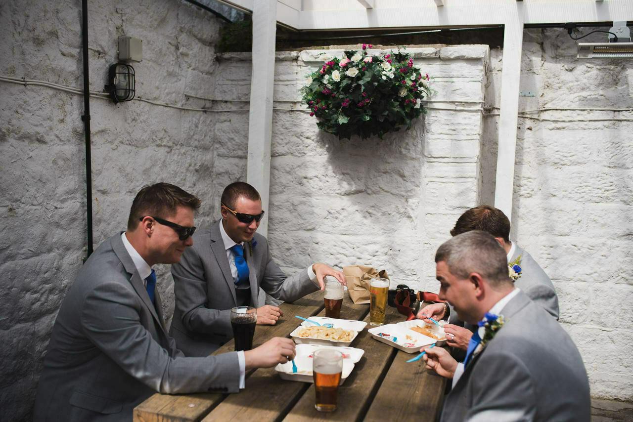 Rustic wedding at Wharfedale Grange-Yorkshire Wedding photographer 10