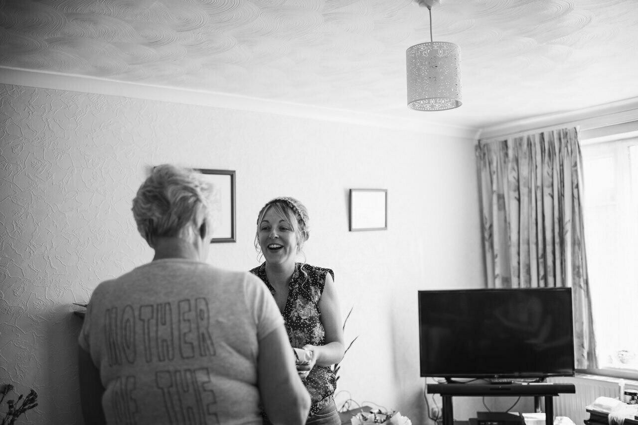 Rustic wedding at Wharfedale Grange-Yorkshire Wedding photographer 14