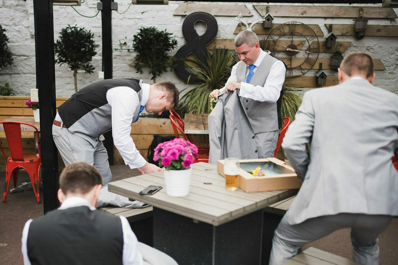 Rustic wedding at Wharfedale Grange-Yorkshire Wedding photographer 4
