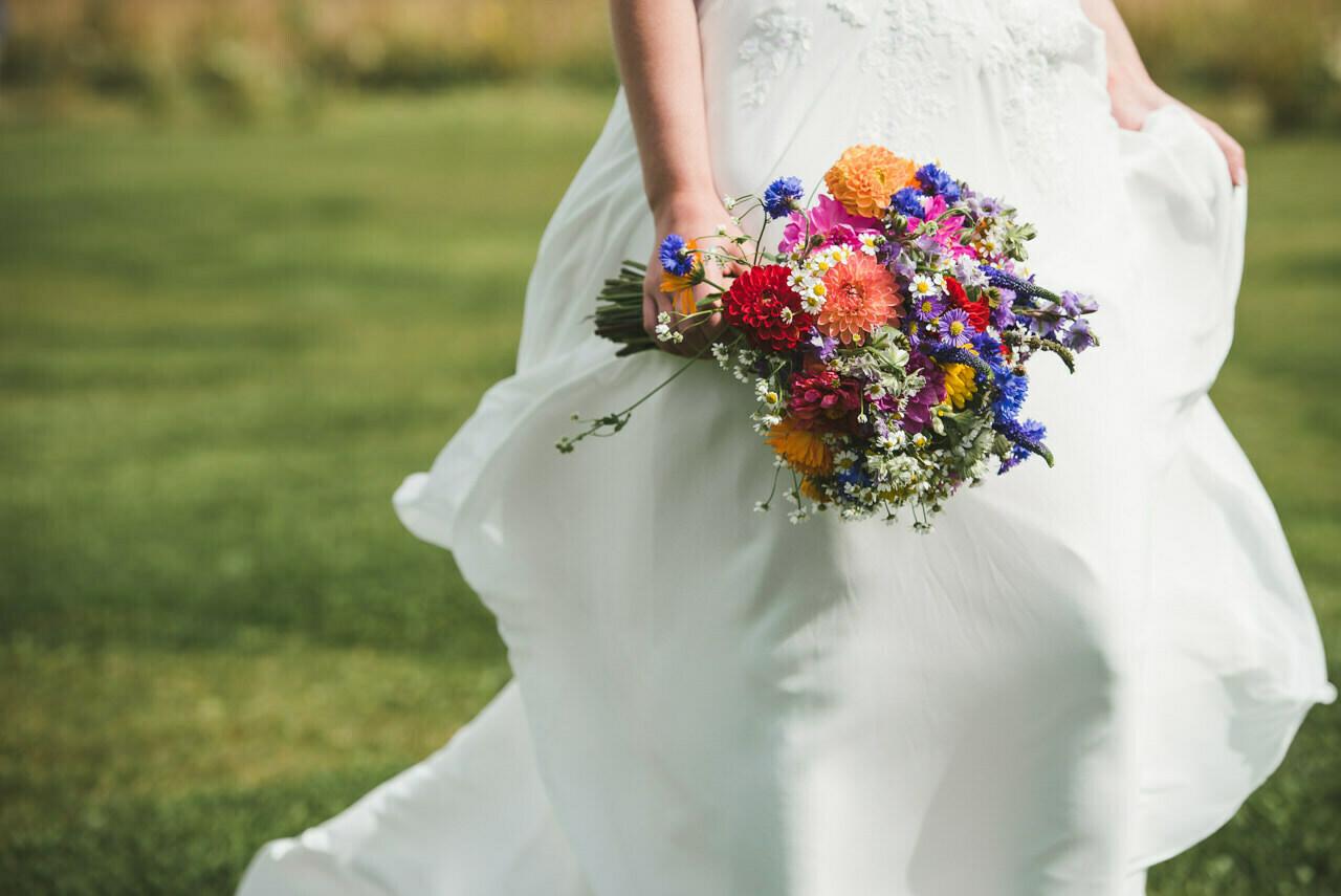 Rustic wedding at Wharfedale Grange-Yorkshire Wedding photographer 43