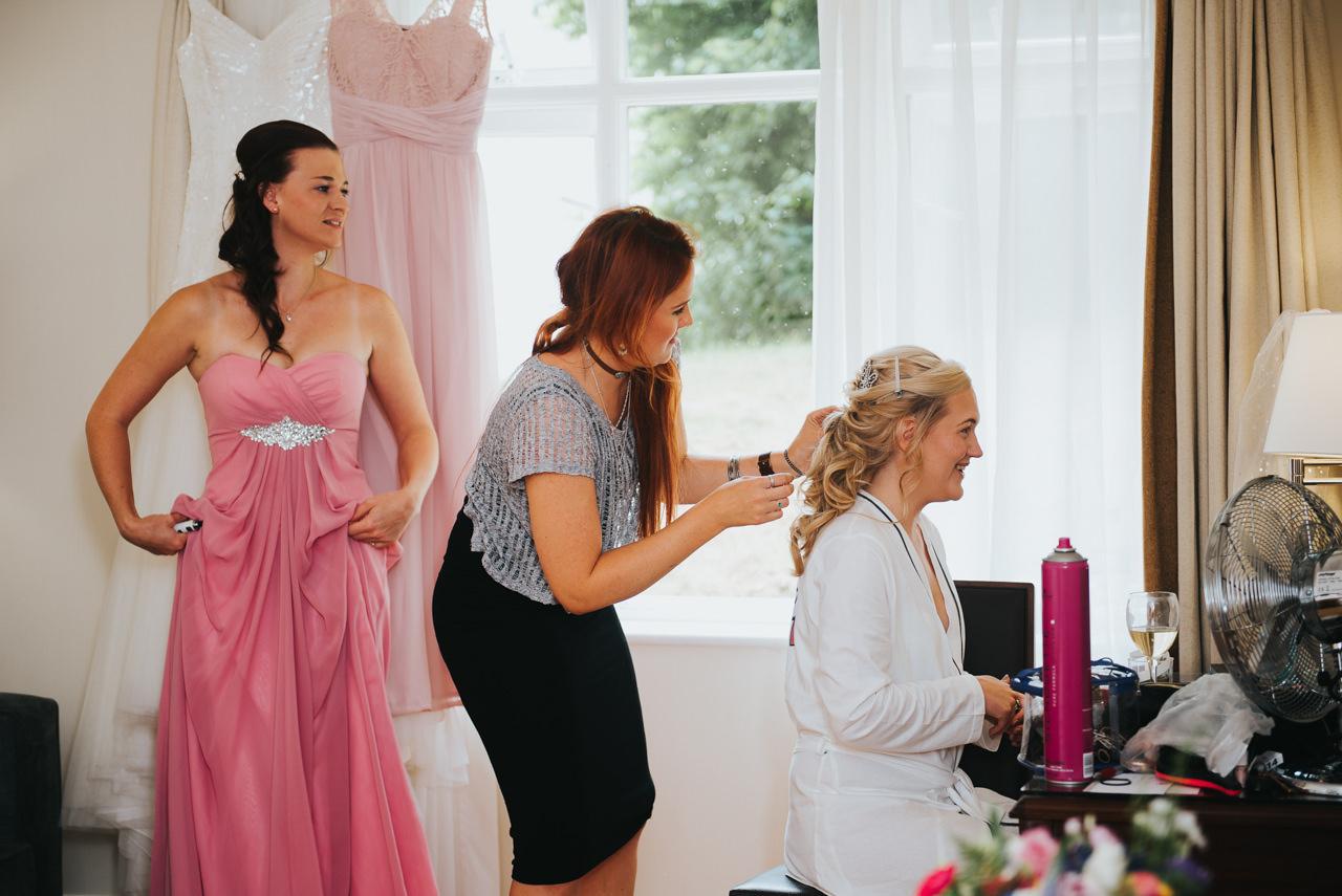 Wedding photography at  Hollins Hall Hotel & Country Club, Bradford 10