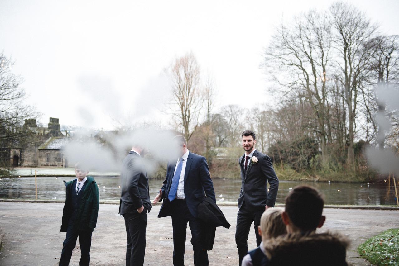 Wedding photography at East Riddlesden Hall Barn 11